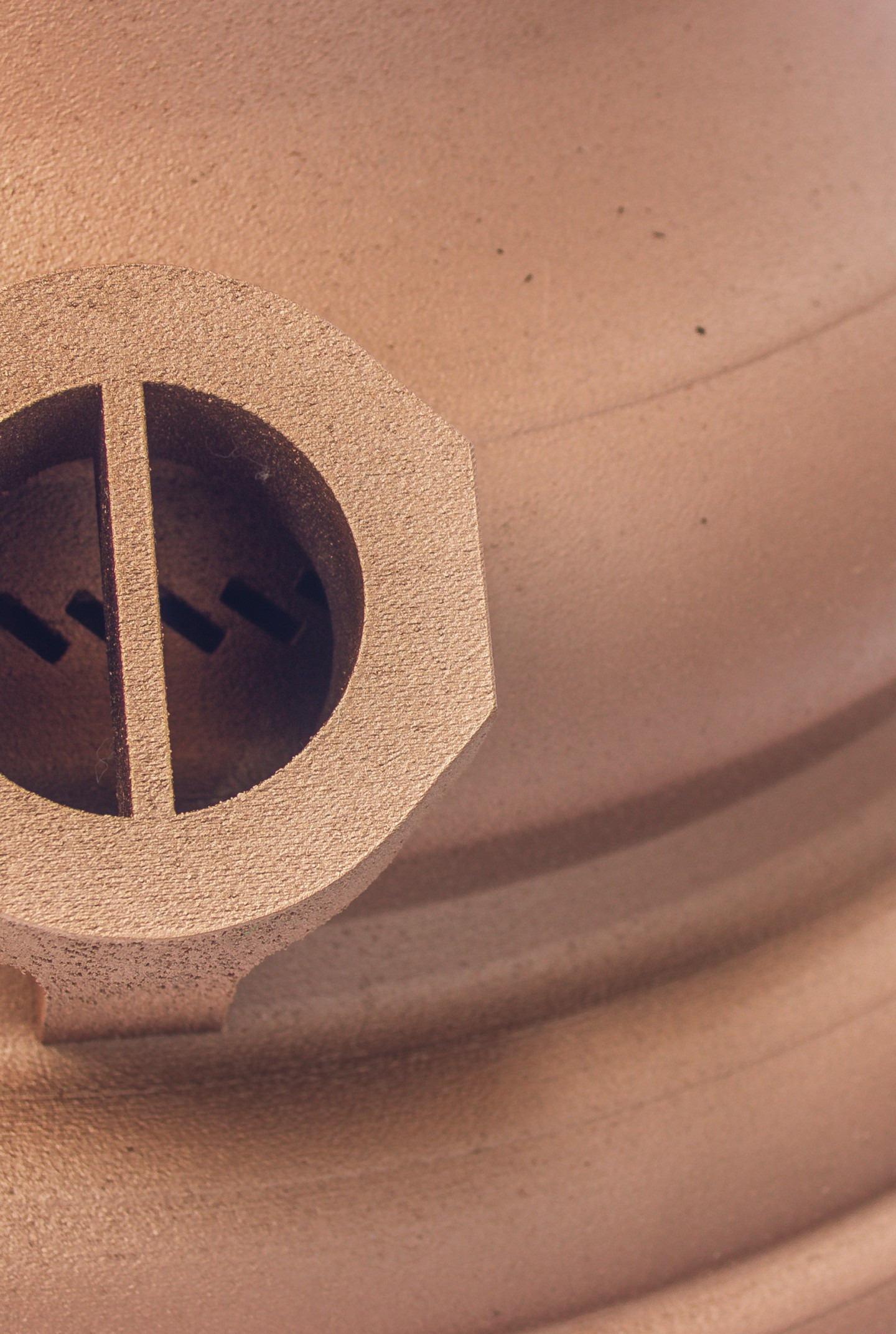 Combustion chamber detail view